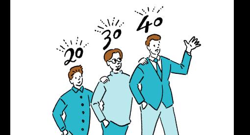 加盟会員の年齢